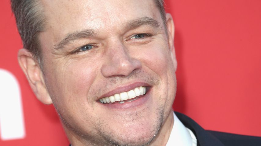 """Schauspieler Matt Damon bei der Premiere von """"Suburbicon"""" in Kalifornien 2017"""