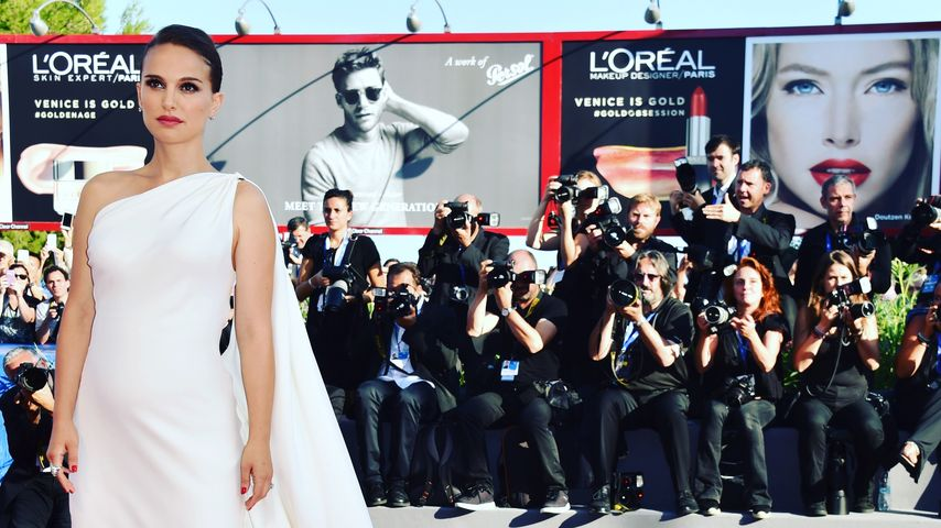 Aufreizend: Natalie Portman zeigt ihr Höschen in Cannes