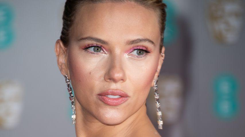 Schauspielerin Scarlett Johansson im Februar 2020 in London