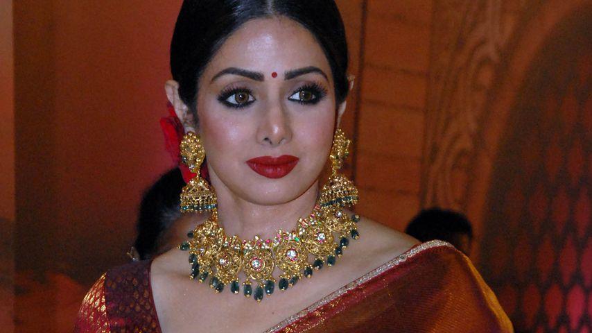 Schauspielerin Sridevi
