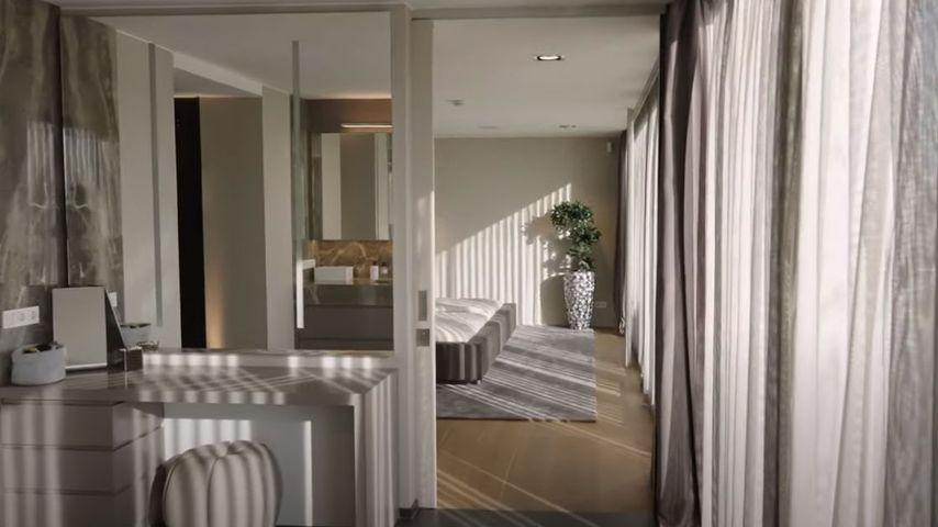 Schlafzimmer der Familie Götze in Dortmund