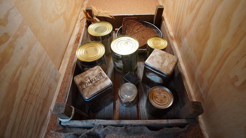 Schleuse für Essen im Tiny House