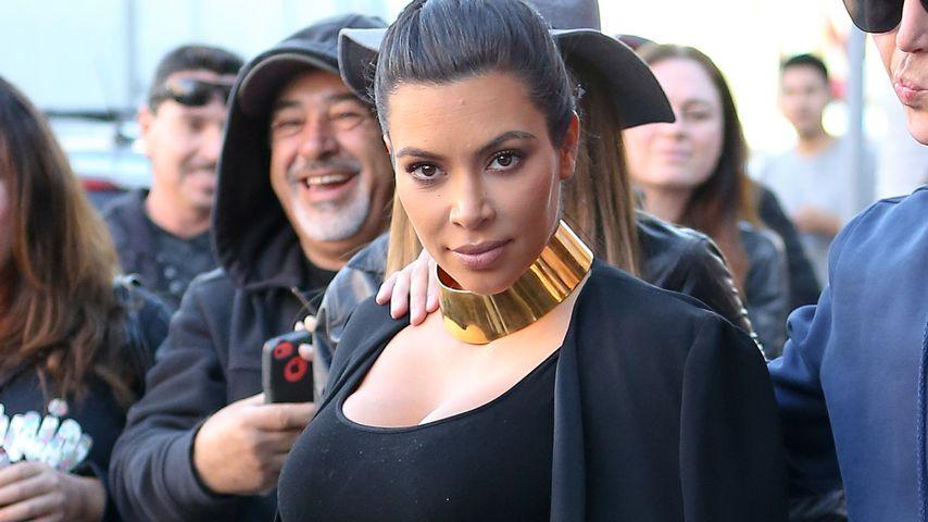 Für einen Käsekuchen: Kim Kardashian jettet nach Paris