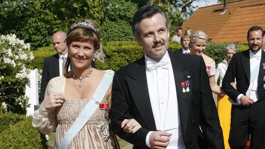 Schwangere Prinzessin Märtha Louise und Ari Behn, Mai 2008