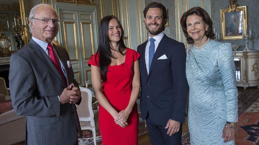 Schweden präsentiert das offizielle Verlobungsbild