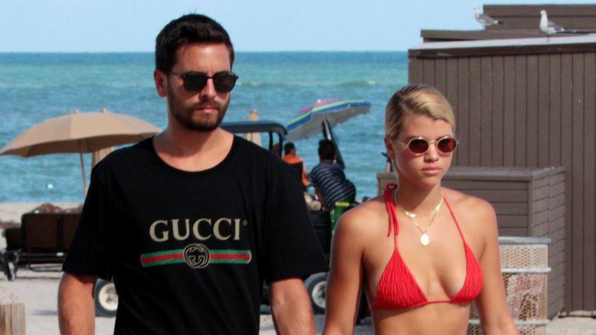 Scott Disick und Sofia Richie in Miami