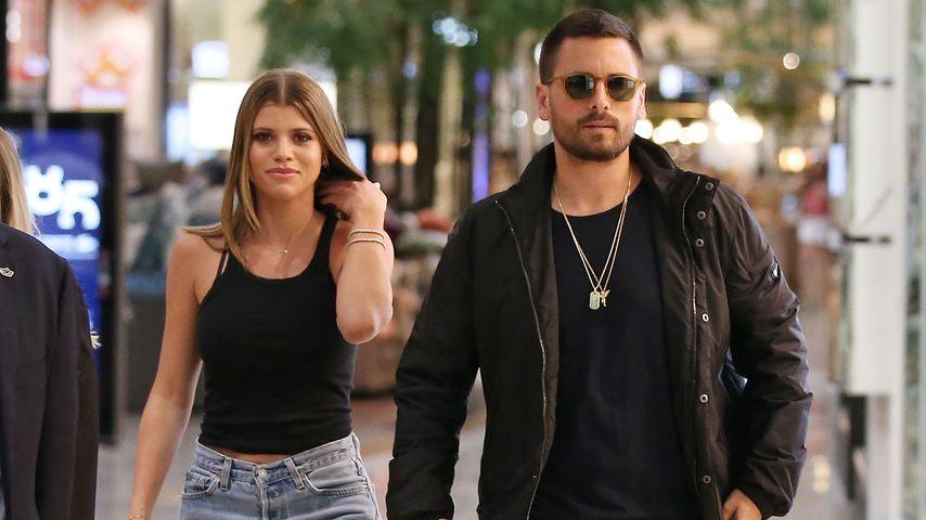Sofia Richie und Scott Disick, 2018