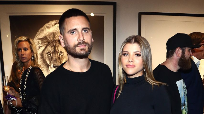 Scott Disick und Sofia Richie im Oktober 2018 in Los Angeles