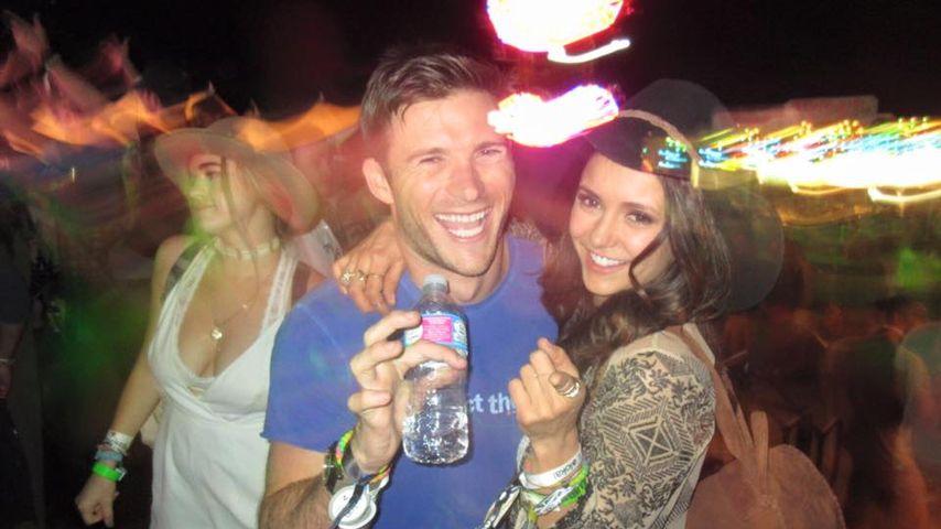 Coachella-Pärchen: Nina Dobrev flirtet mit Scott Eastwood