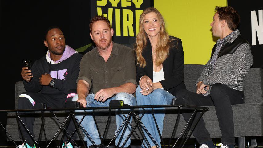 """Scott Grimes und Adrianne Palicki mit """"The Orville""""-Kollegen auf der Comic-Con in New York"""