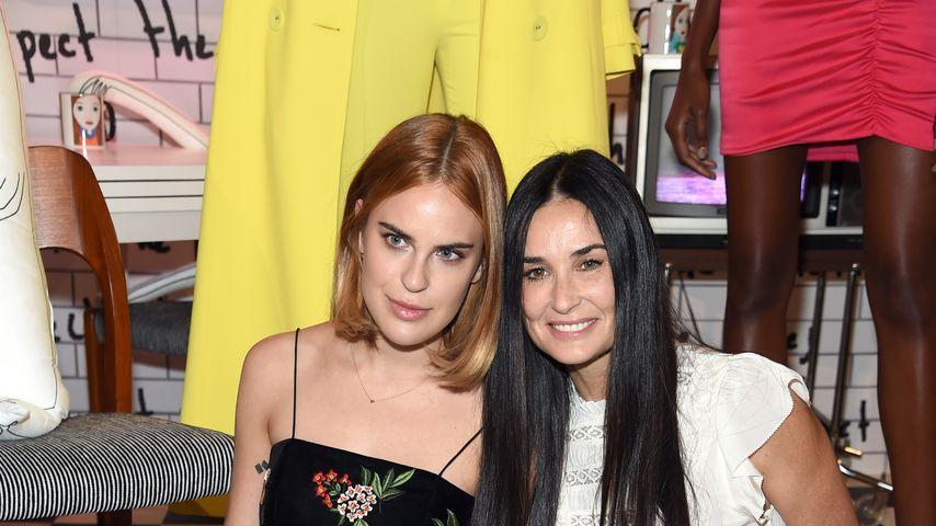 Scout Willis und Demi Moore auf der New York Fashion Week 2017