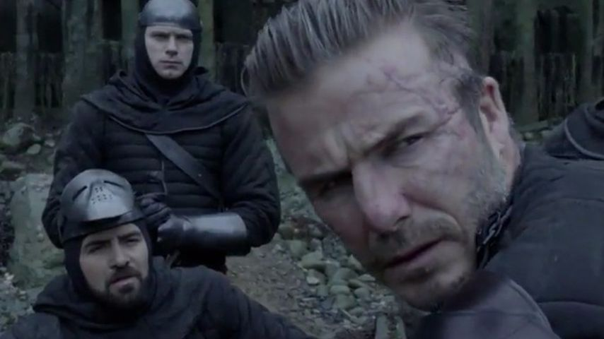 """1. """"King Arthur""""-Clip: David Beckham KANN auch hässlich sein"""