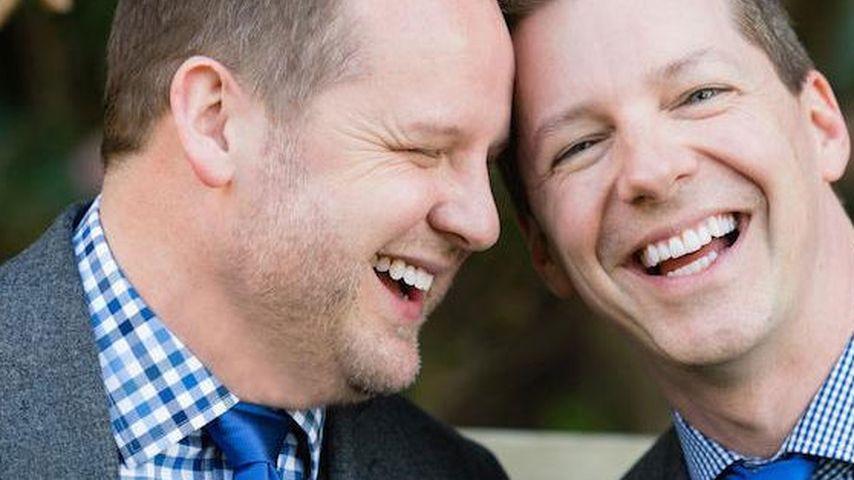 8 Jahre Liebe: Sean Hayes & Freund unter der Haube