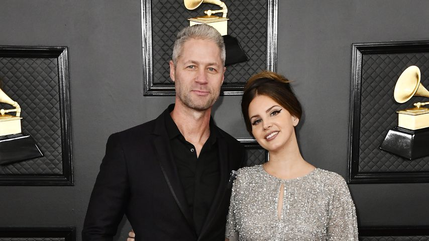 Sean Larkin und Lana Del Rey im Januar 2020 in Los Angeles
