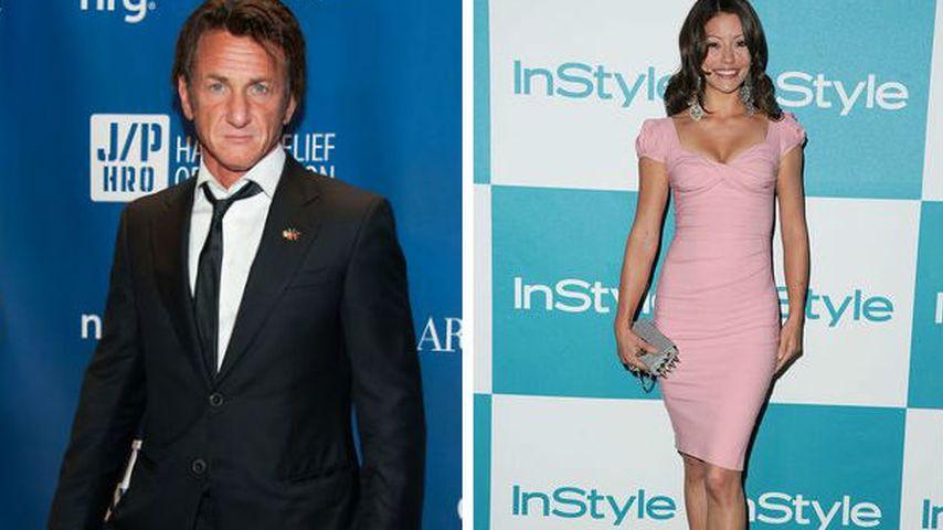 Im Nobel-Restaurant: Sean Penn datet diese hübsche Brünette!