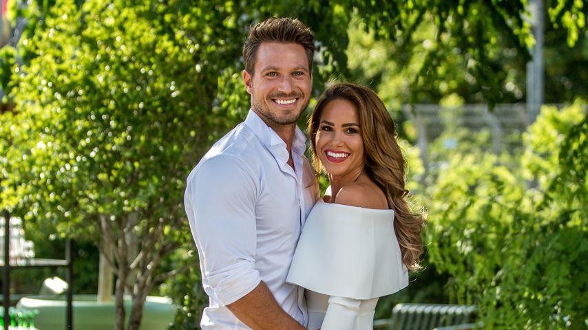 Sebastian Pannek und Angelina Heger im Juli 2019