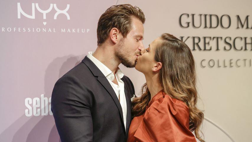Sebastian Pannek und Angelina Heger auf der Berlin Fashion Week 2021