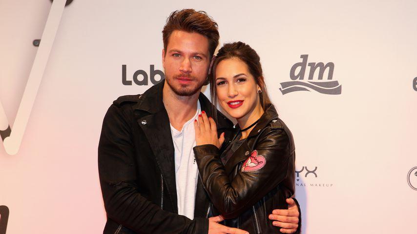 Sebastian Pannek und Clea-Lacy Juhn bei der Beauty Convention GLOW