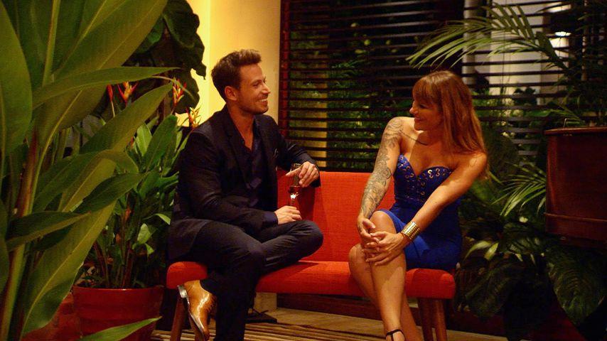Sebastian Pannek und Fabienne in der ersten Nacht der Rosen