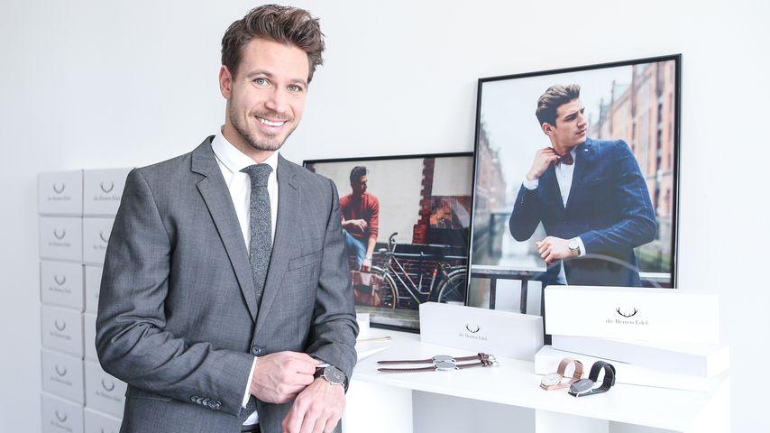 Süßer Liebesbeweis: Bachelor-Basti designt Uhr für Clea-Lacy