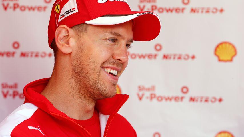 Glückszahl 2! Zweifach-Papa Sebastian Vettel holt 2. Platz