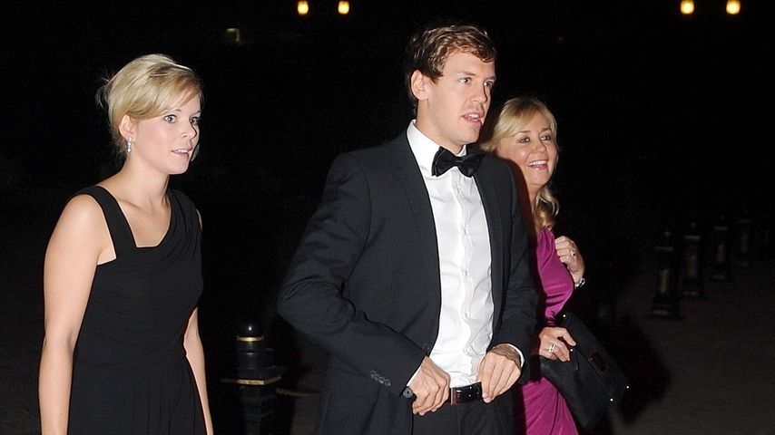 Hanna und Sebastian Vettel bei einer Gala im Dezember 2011