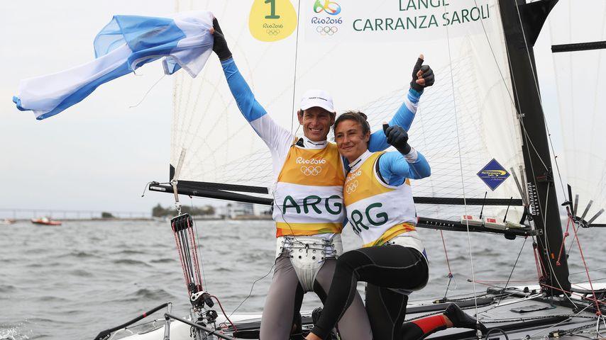 Olympia-Sieger Santiago Lange und Cecilia Carranza Saroli