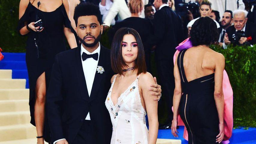 Selena Gomez und The Weeknd bei der Met-Gala in NY
