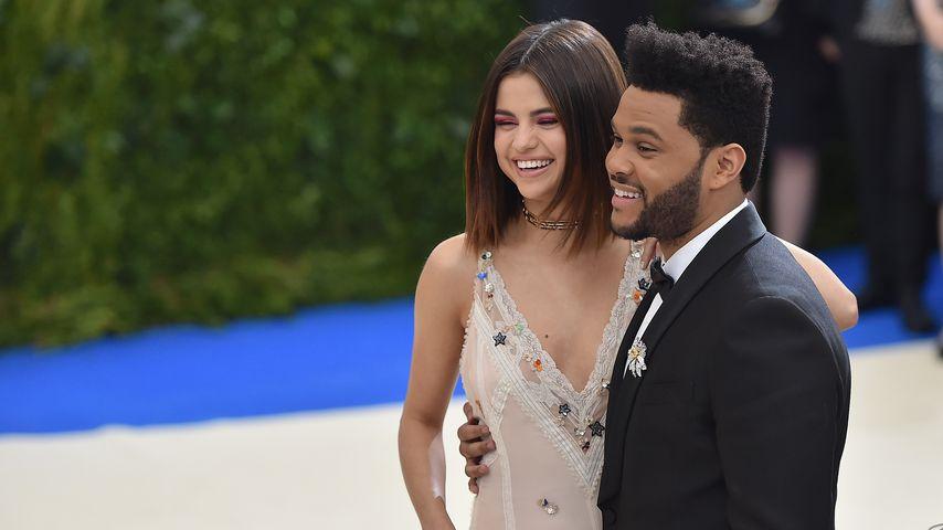 Selena Gomez und The Weeknd bei der Met Gala im Mai 2017