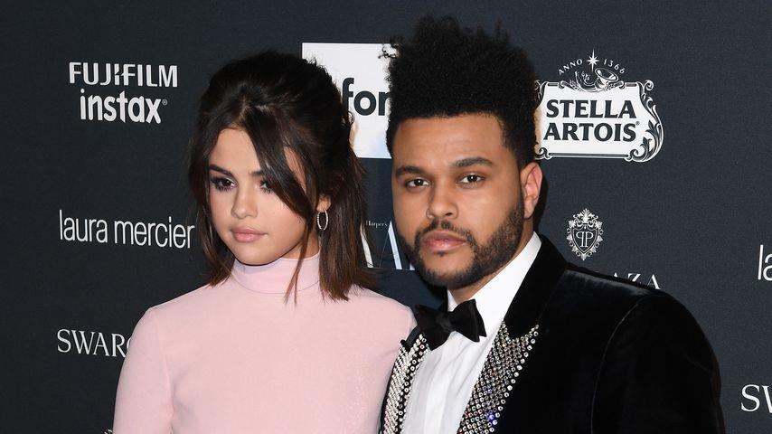Selena Gomez und The Weeknd im September 2017