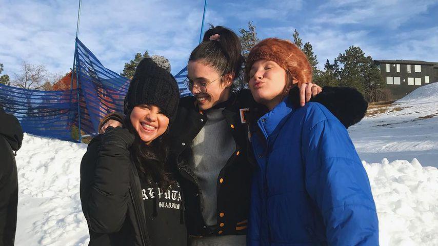 Selena Gomez mit Freunden in Big Bear