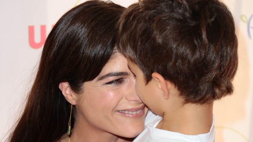 Selma Blair und ihr Sohn Arthur in Los Angeles
