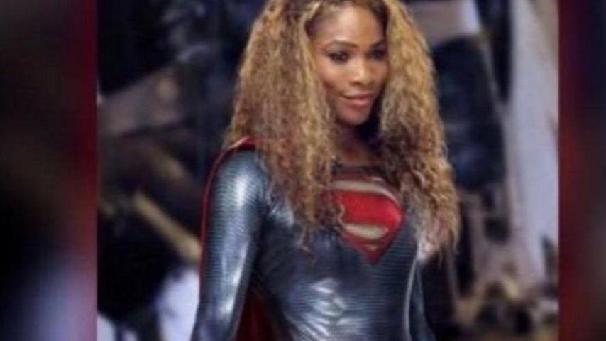Wahnsinn! Superheldin Serena Williams fasst ihren Handydieb