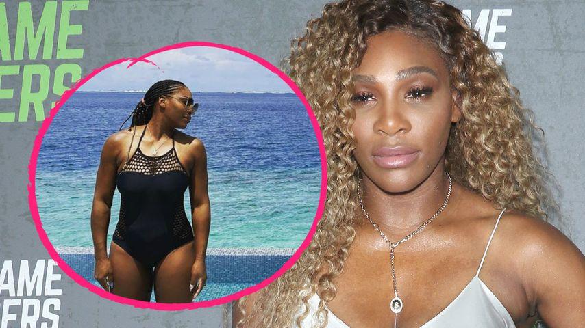 Nach Tennis-Saison: Serena Williams entspannt im Paradies!