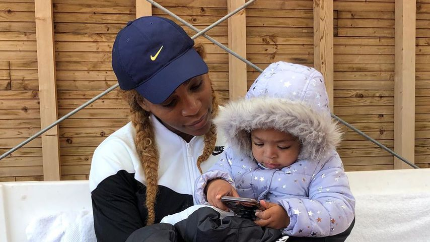 Serena Williams mit ihrer Tochter Alexis Olympia Ohanian Jr.