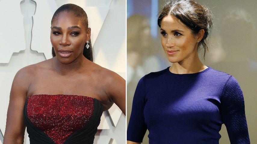 Serena Williams' Fans geben Meghan Schuld an Tennis-Pleite