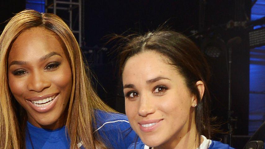 Meghan ist auch als Royal tolle Freundin für Serena Williams