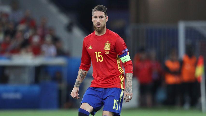 Spaniens Heimtrikots: Sergio Ramos beim EM-Spiel Spanien gegen Türkei