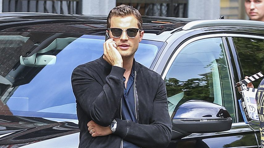 "Hype um ""Fifty Shades Freed"": So sexy ist Mr. Grey am Set!"
