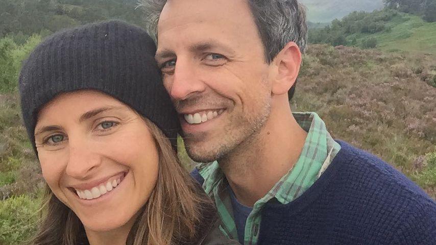 Seth Meyers und seine Frau Alexi Ashe in Schottland