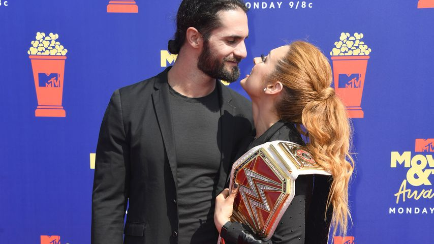 Seth Rollins und Becky Lynch bei den MTV Movie Awards 2019