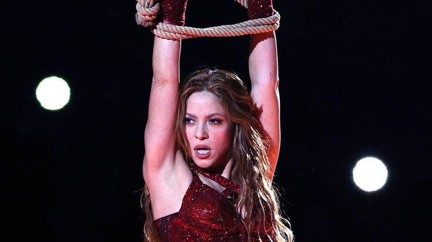 Shakira beim Super Bowl