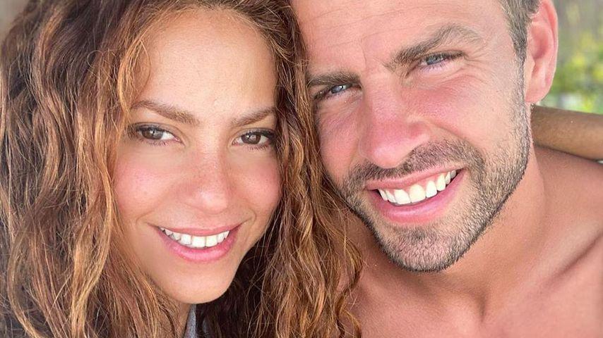 Shakira und Gerard Piqué im August 2020