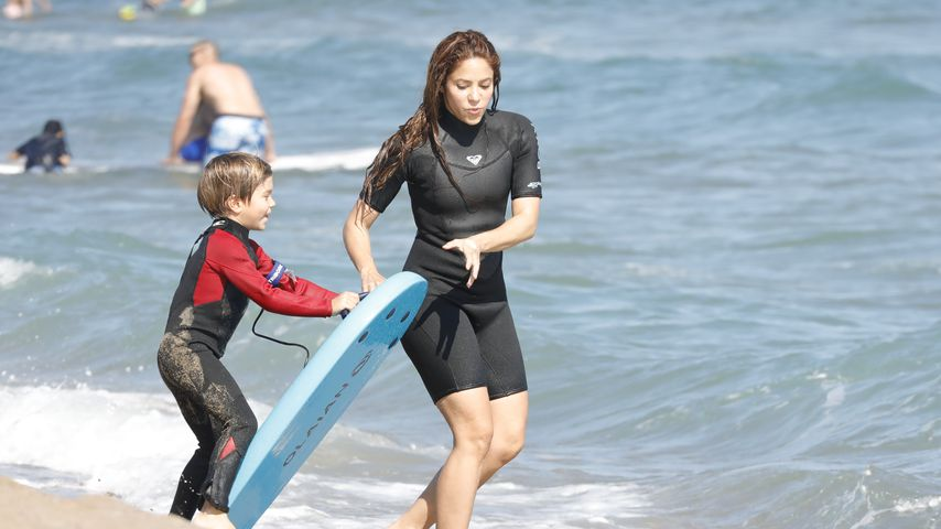 Shakira und ihr Sohn Sascha im Juni 2020