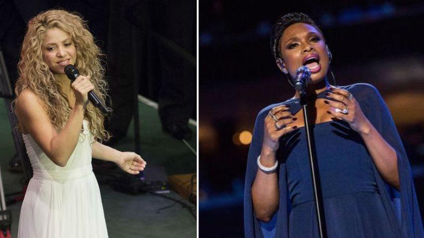 Shakira und Jennifer Hudson