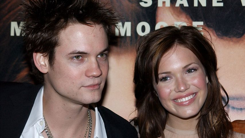 "Shane West und Mandy Moore auf der Premiere ""A Walk to Remember"" 2002"