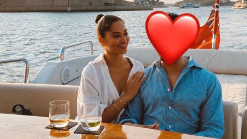 Shanina Shaik mit ihrem neuen Freund, Dezember 2019
