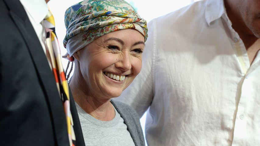 Shannen Doherty: Nach Krebskampf wachsen die Locken wieder!