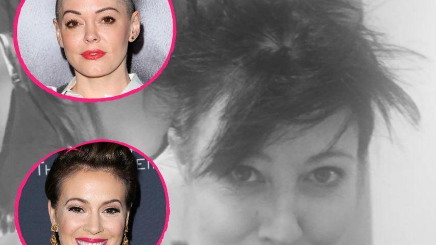 Haar-Rasur wegen Krebs: Charmed-Girls stehen Shannen bei