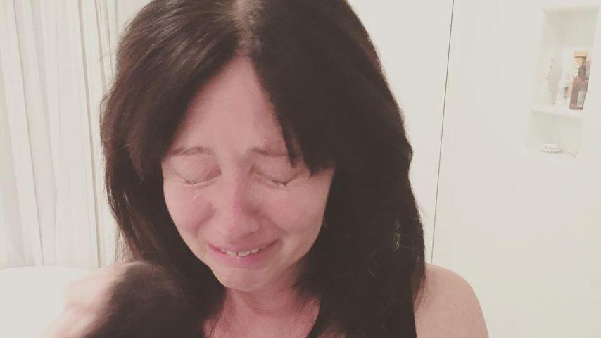 Bewegend: Shannen Doherty teilt Throwback-Pic aus der Chemo!